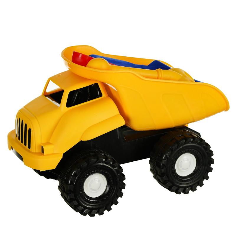 Set de joacă pentru plajă - camion, 6 piese  116051