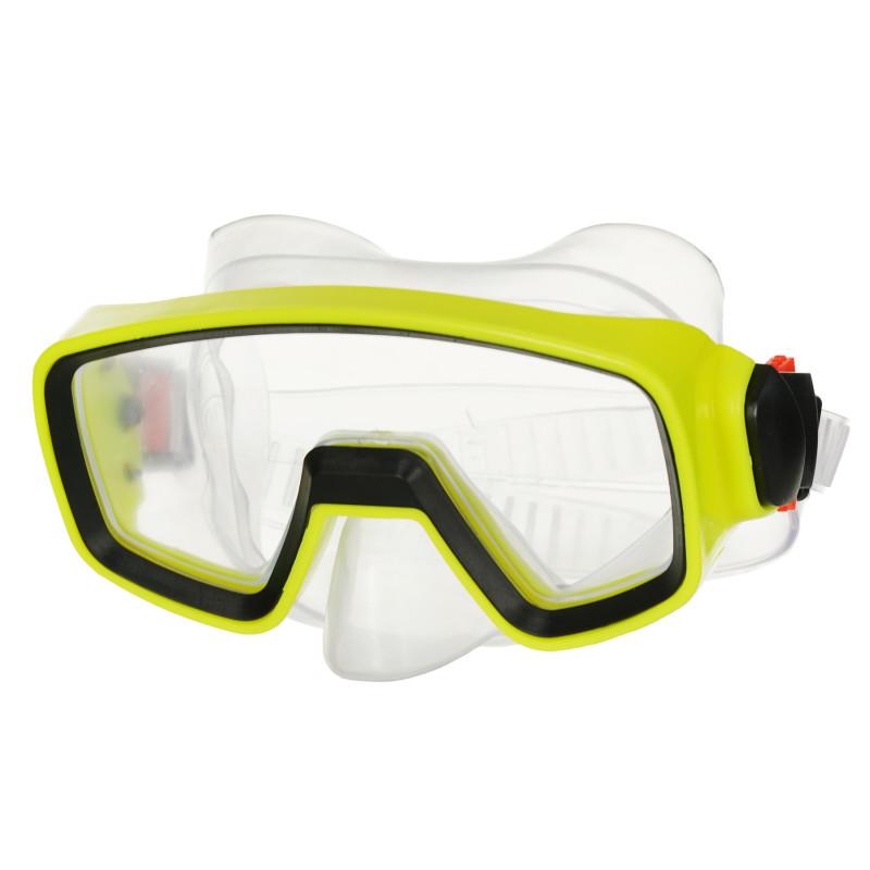 Masca de înot / scufundare, galbenă  116077