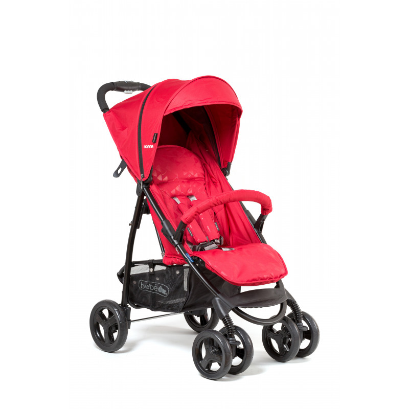 Cărucior Bebe Due roșu  1195