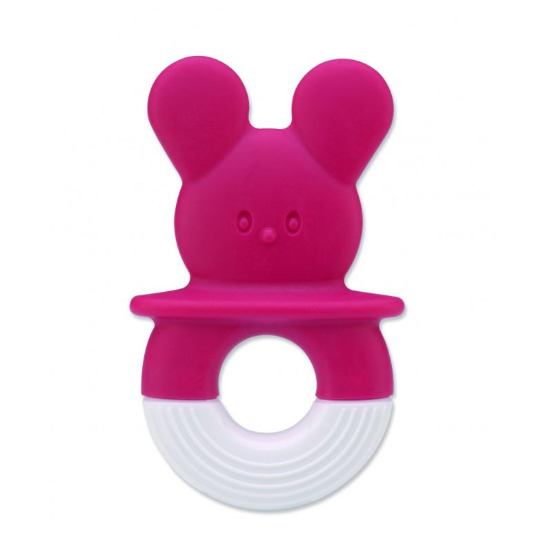 Jucărie pentru dentiție de culoarea roz  1215