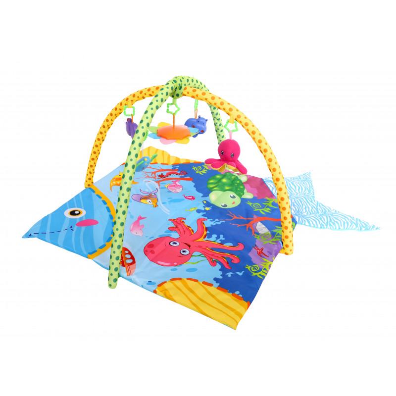 Covorașul de joc Ocean, de culoare albastră  1436