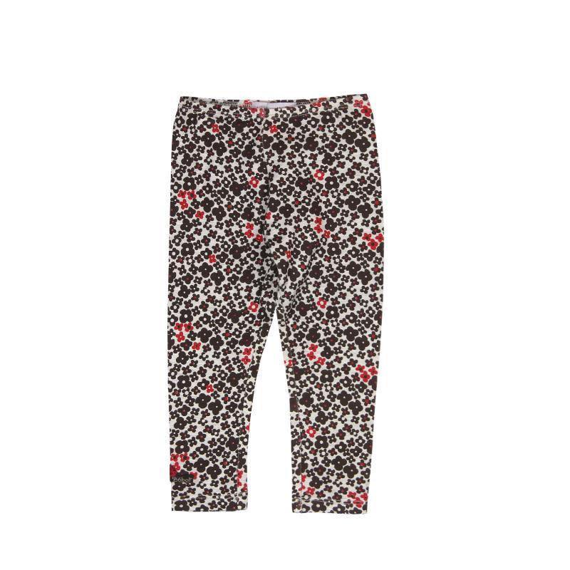 Pantaloni lungă cu imprimeu de flori pentru fete  173