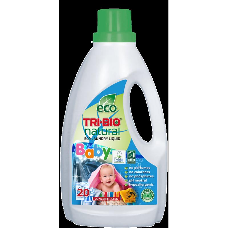 Detergent lichid natural Eco, flacon de plastic, 940 ml  18955