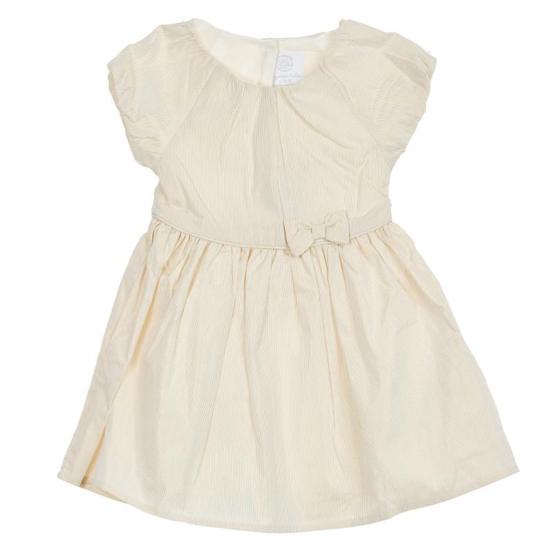 Rochie pentru bebeluși, în bej  206902