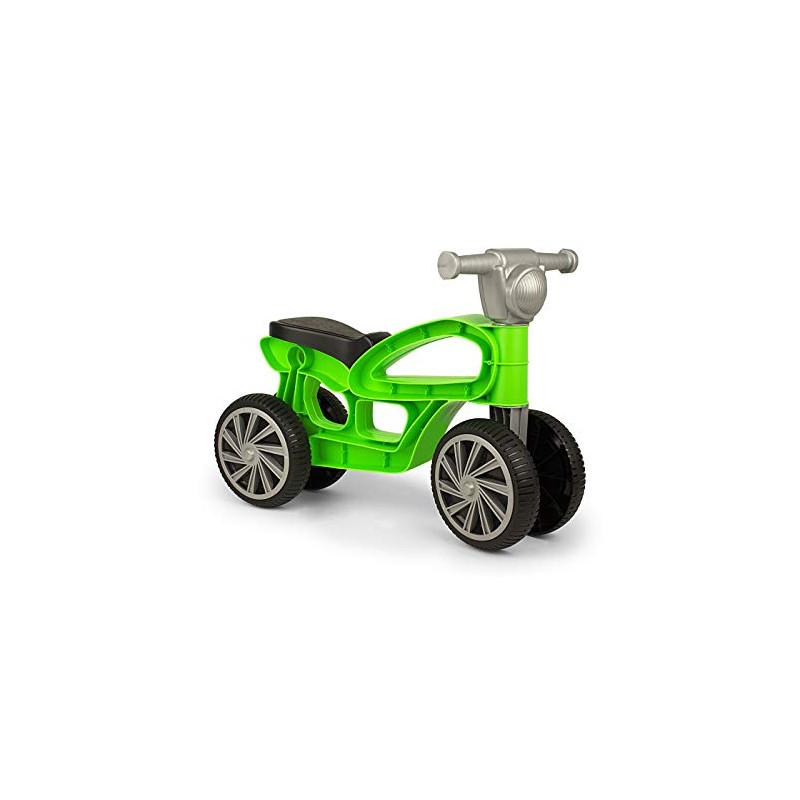 Bicicletă de echilibru MINI CUSTOM, verde, 55 x 20 x 40 cm  207213