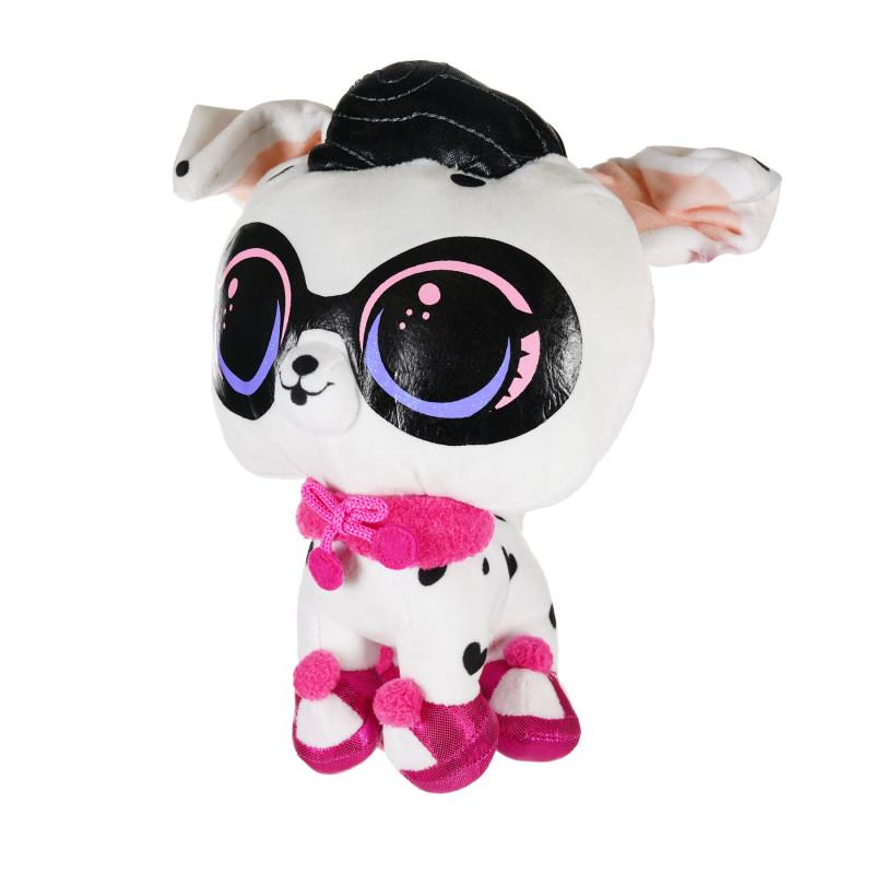 Animal de pluș LOL surpriză - cățeluș alb 24 cm   207431