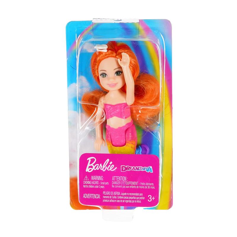 Păpușă sirenă Barbie Dreamtopia cu păr portocaliu  207473