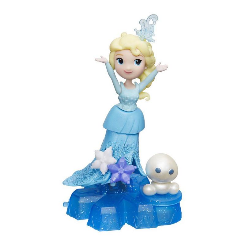 Mini păpușă Elsa cu accesorii, 8 cm  210021