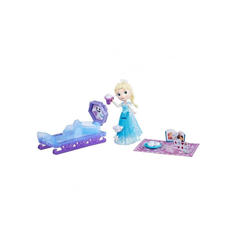 Mini păpușă Elsa, 8 cm  210023