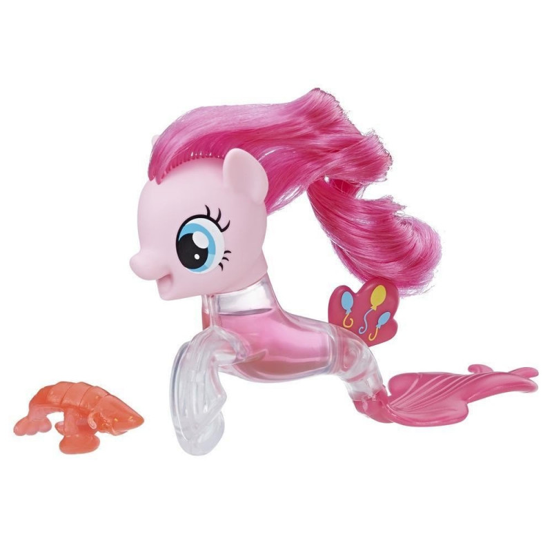 Figurina ponei Pinkie Pie cu coadă transparentă  210281