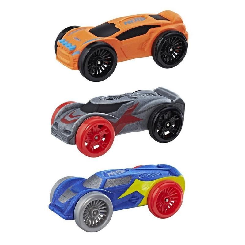 Set de mașinuțe moi pentru lansarea Nitro 3 buc.  210294