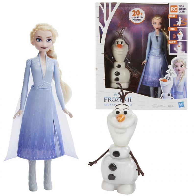Păpușa Elsa cu Olaf muzical   210466