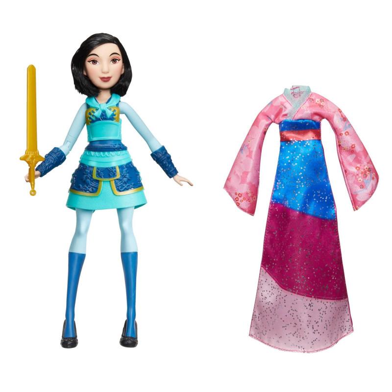 Păpușă Mulan cu două ținute  210509