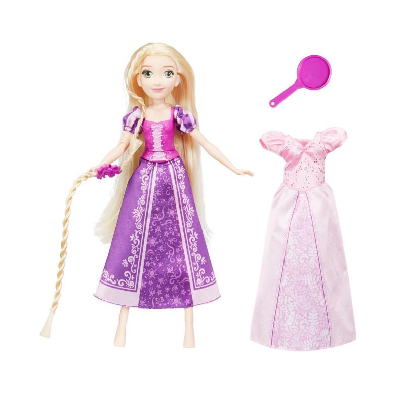 Păpușă Rapunzel cu două rochii  210511