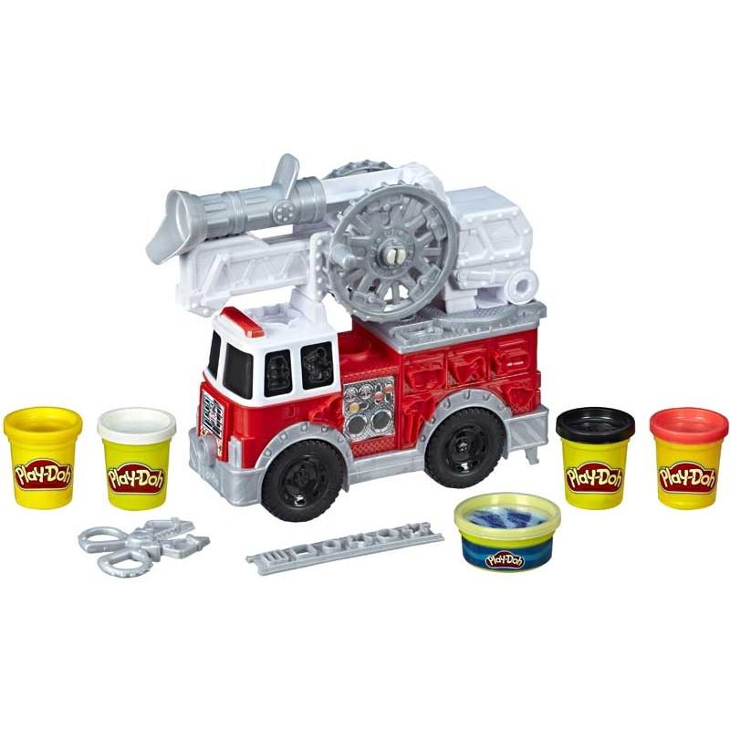 Trusă de modelare a camioanelor de pompieri  210539