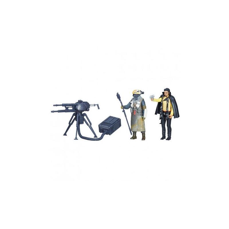 Set de figurine Kessel Guard și Lando Calrissian, 10 cm  210637
