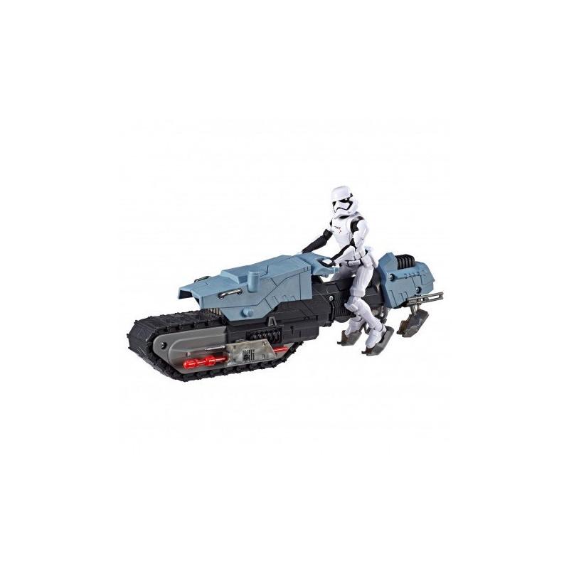 Set de figurine și șofer First Order & vehicul Treadspeeder   210644