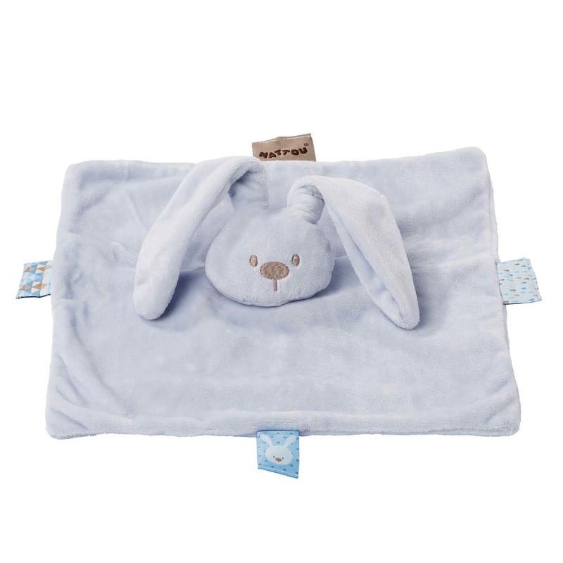 Jucărie moale, pătură, albastră, 26 x 26 cm  211033