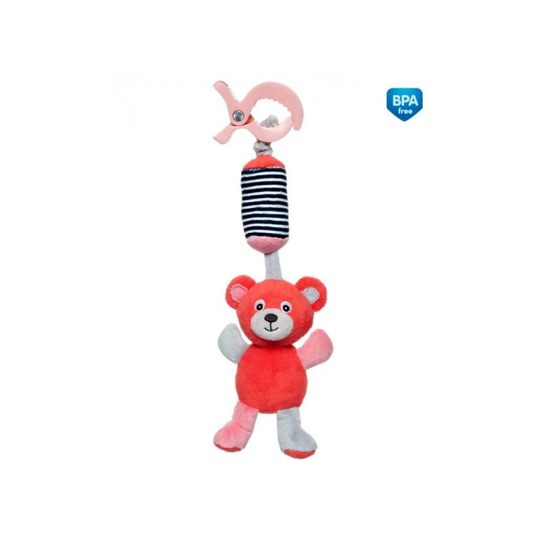 Jucărie moale, Urși, roșu, 23 cm  211038