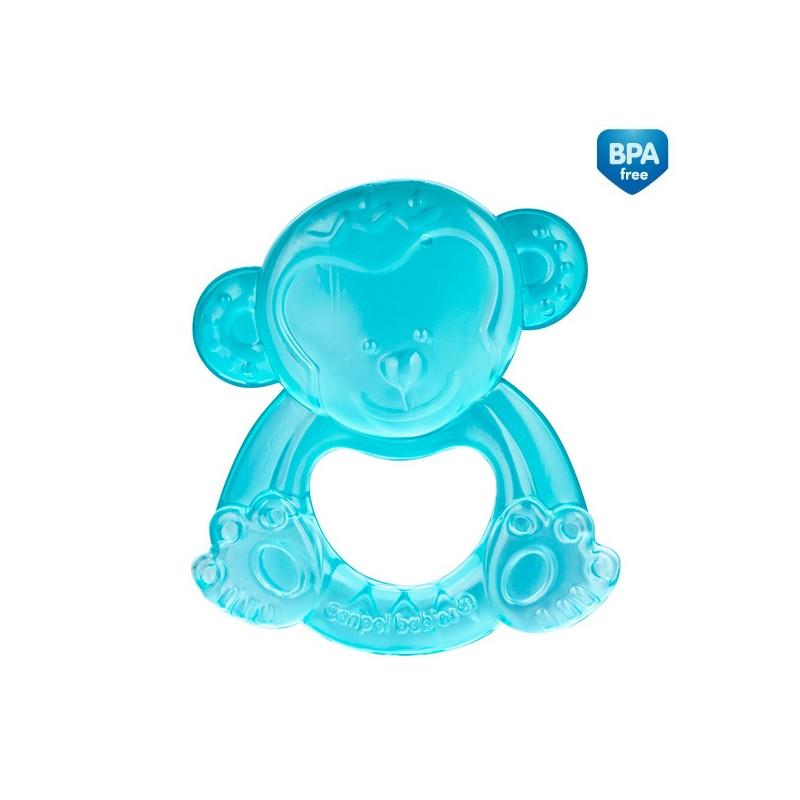 Jucărie dentiție cu apă, Maimuță, albastră  211145