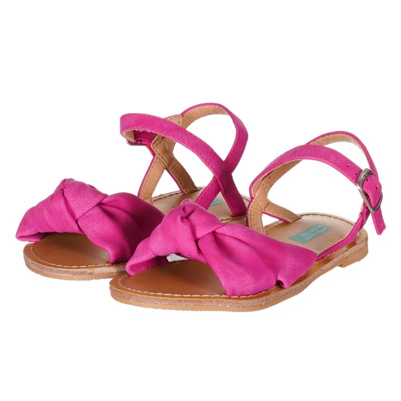 Sandale cu cataramă, roz  212892