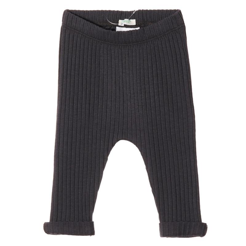 Pantaloni de bumbac pentru bebeluși, culoare maro  213091