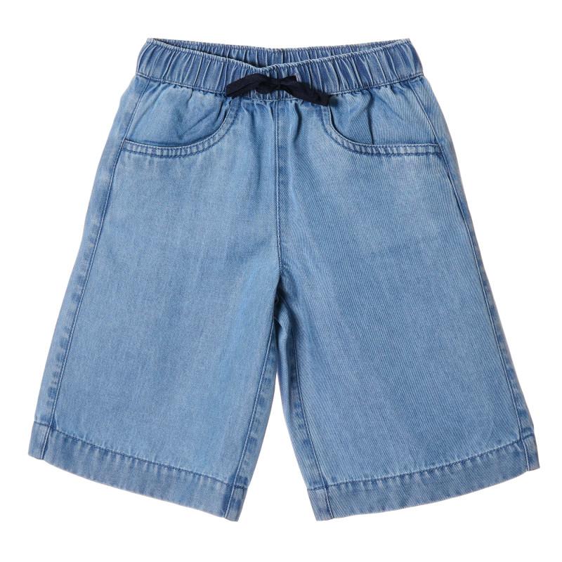 Pantaloni scurți cu șiret, albaștrii  213111