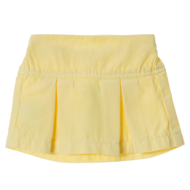 Fustă de catifea galbenă, pentru fetițe  213147