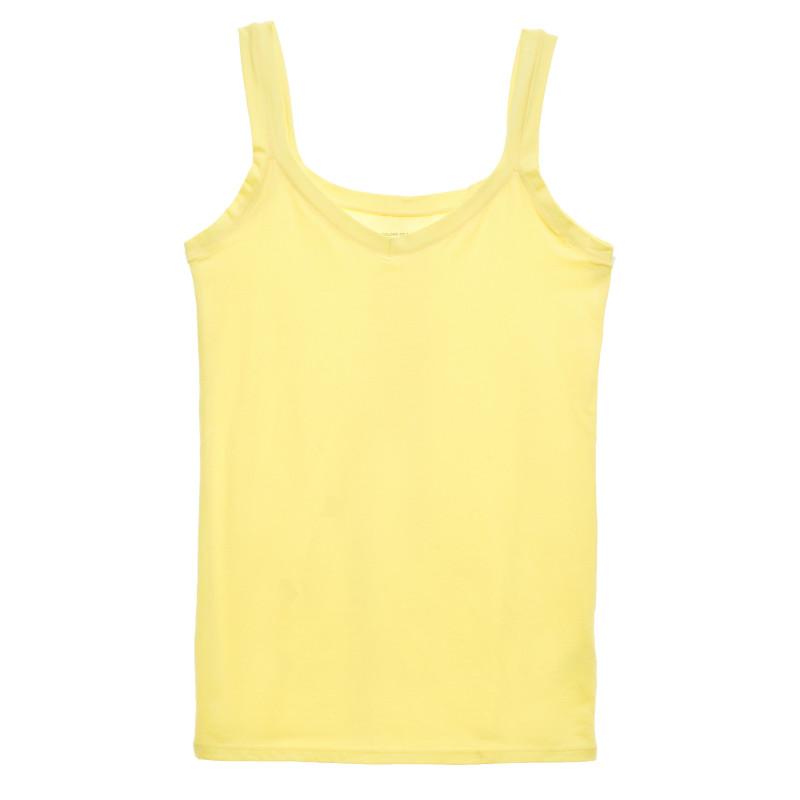Maieu cu bretele subțiri, galben  213847