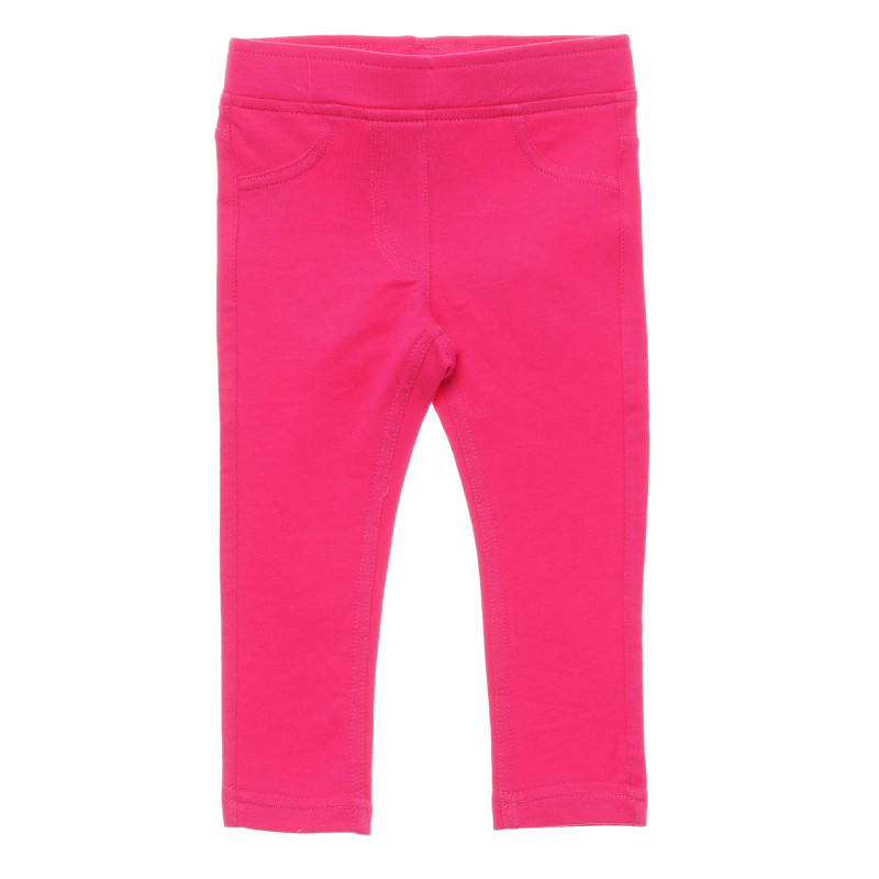 Colanți din bumbac, în roz  214439
