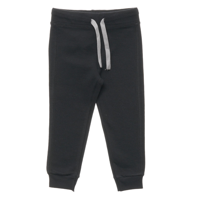 Pantaloni cu margine gri, negri  214526