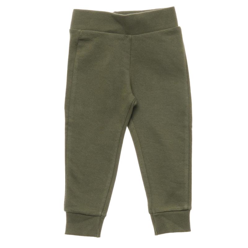 Pantaloni de bumbac, verzi  214594