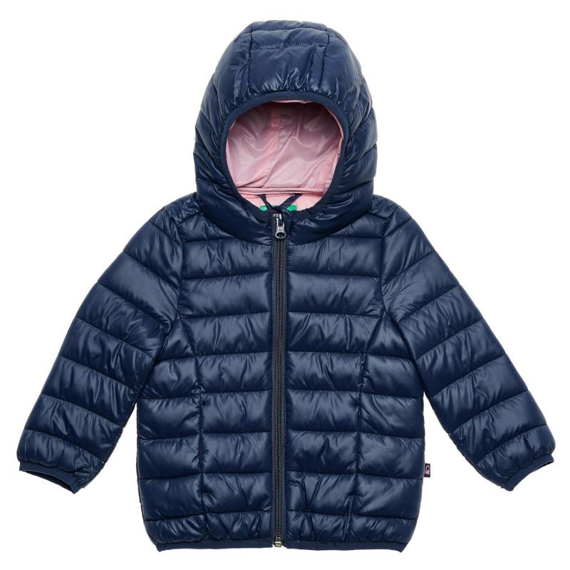 Geacă de iarnă pentru bebeluși, albastru închis  214642