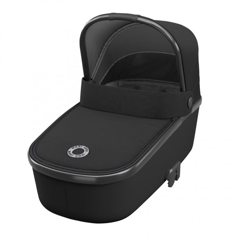 Coș pentru bebeluși, Oria Essen Black  215448