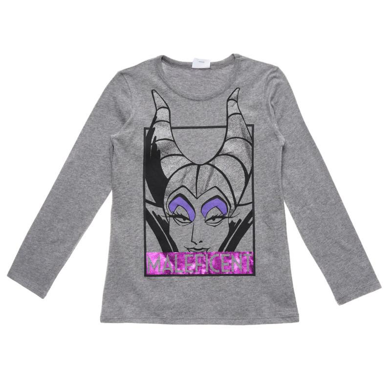 Bluză cu mânecă lungă cu imprimeu Maleficent   215845