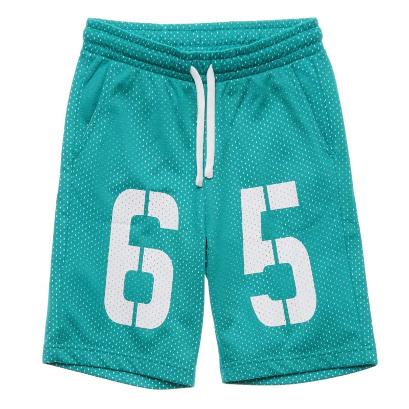 Pantaloni scurți sport, verzi  216004