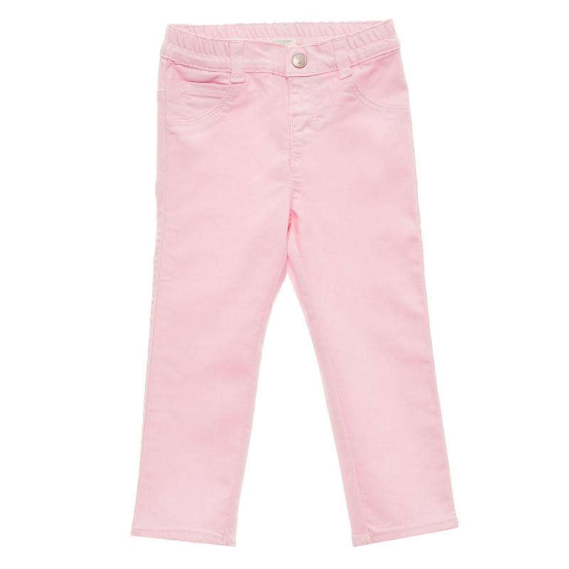 Pantaloni cu buzunare decorative pentru bebeluși, roz  216964