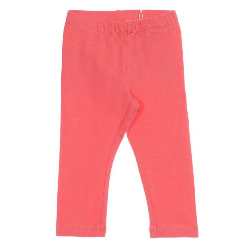 Pantaloni din bumbac organic, culoare roz  219540