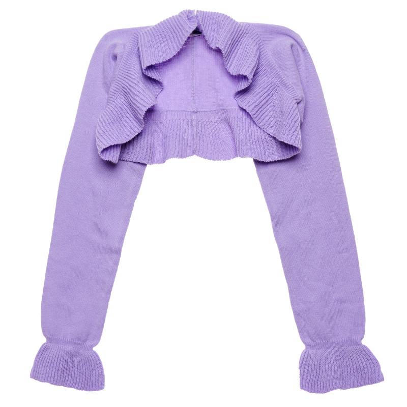Bolero de bumbac, violet  222114