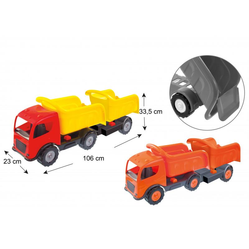 Camion cu două remorci, Mașini Mari  2289