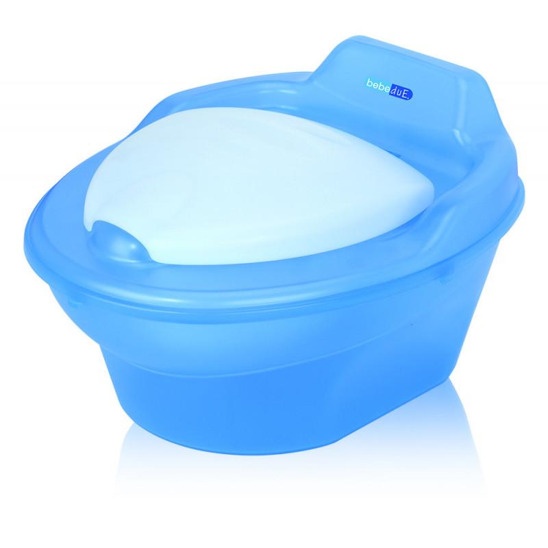 Oliță pentru copii cu recipient detașabil în albastru  22979