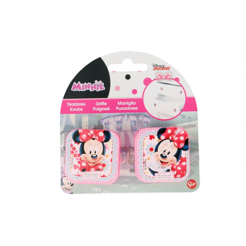 Mâner de mobilier Minnie Mouse, 2 bucăți  23097