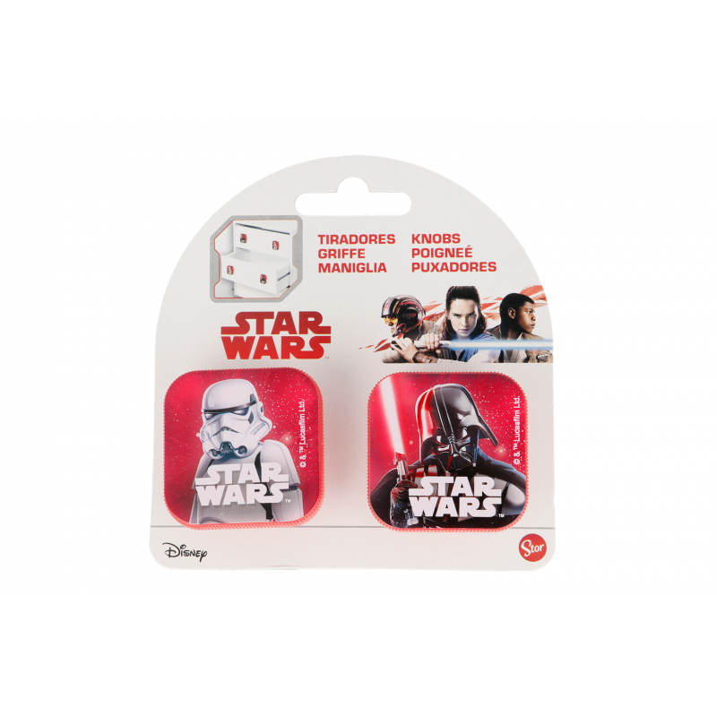 Mâner pentru mobilă Star Wars, 2 piese  23114