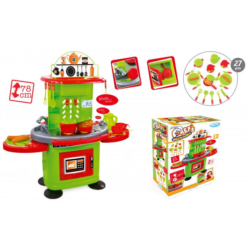 Set de bucătărie pentru copii - 78 cm cu sunet și lumină  2325