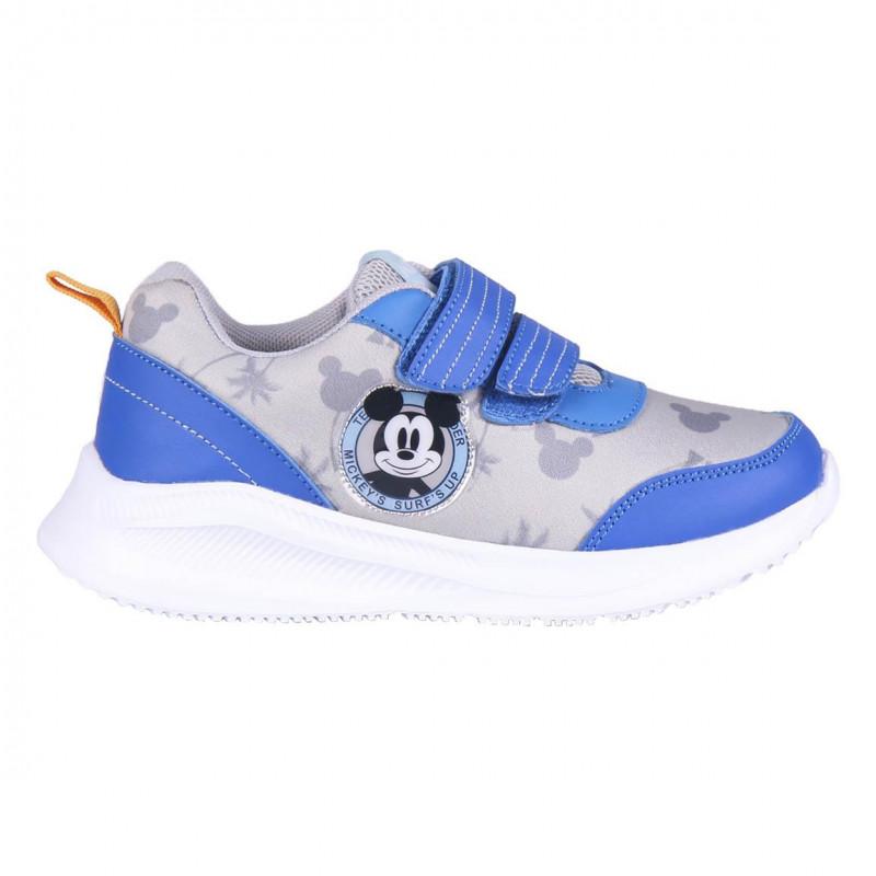 Adidași cu imprimeu Mickey Mouse, albaștri  233062