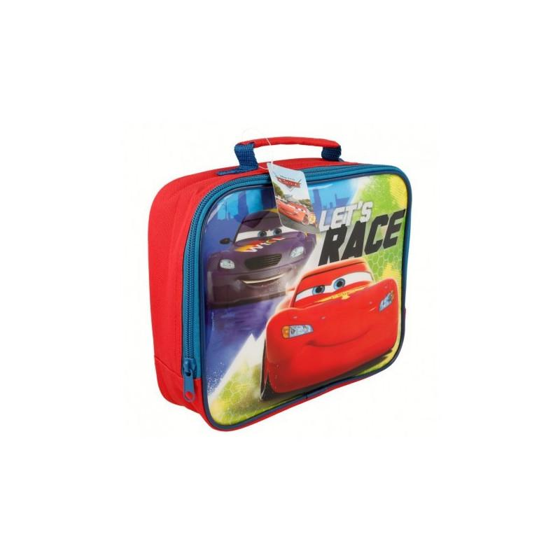 Geantă termoizolantă cu imagine din desenul animat CARS RACERS EDGE, 4,37 l  23319