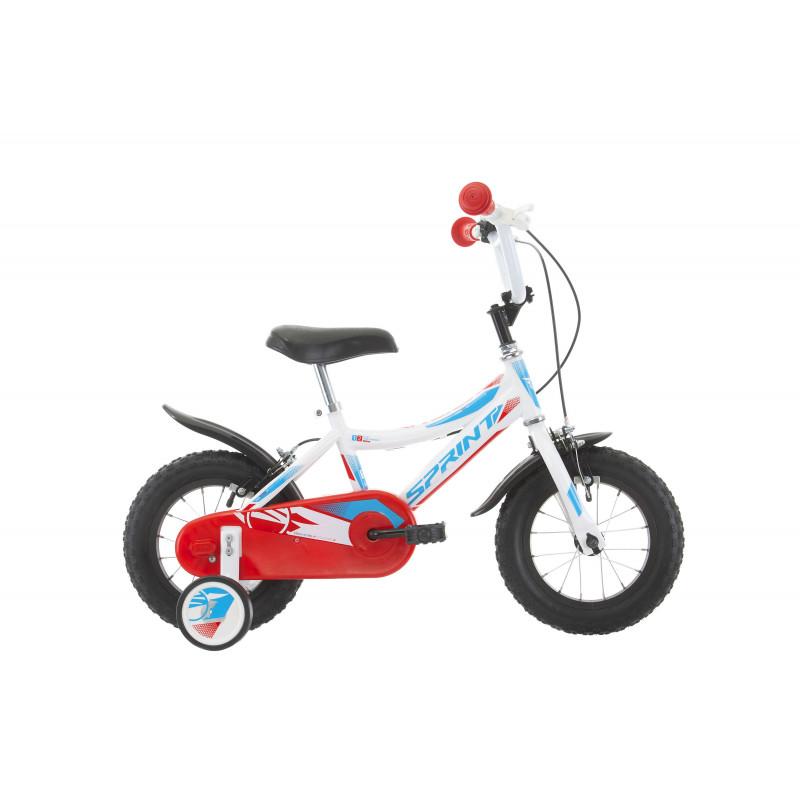 Bicicletă pentru copii Robix 12, albă  234380