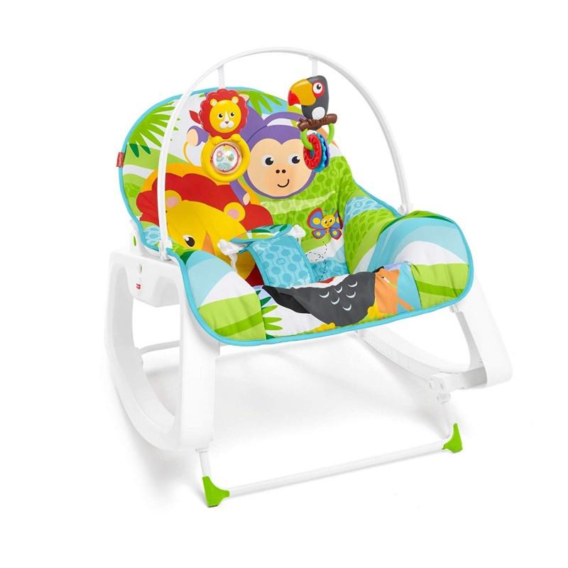 Scaun pentru bebeluși și șezlong 2 în 1 Rainforest, Lion  238999
