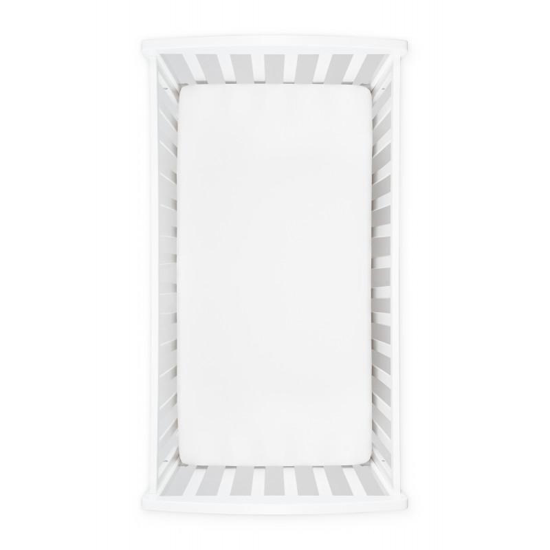 Cearșaf alb cu elastic, 125 x 65 cm  239009