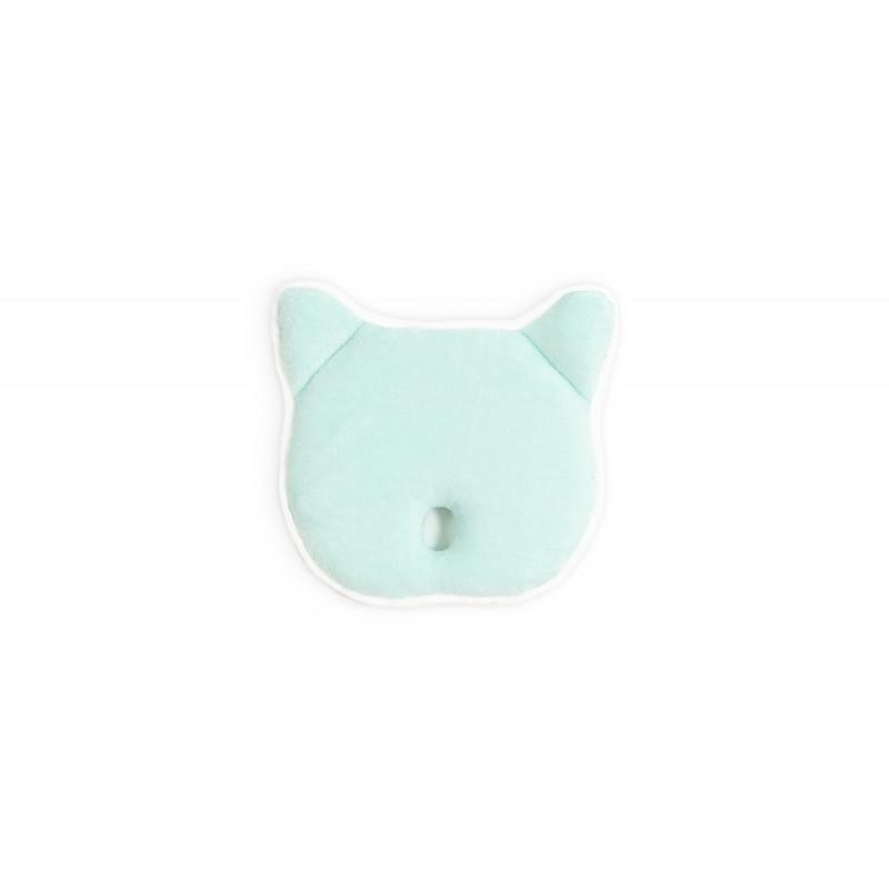 Pernă pentru bebeluși Urs din bambus, celadon  239052